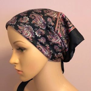 Urban outfitters paisley satin scarf